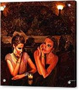 Beautiful Gossipers Acrylic Print