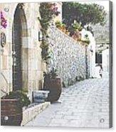 Beautiful Greece Acrylic Print