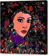 Beautiful Gypsy Acrylic Print