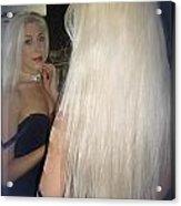 Beautiful Hair Acrylic Print