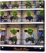 Beautiful Hotel In New Orleans Acrylic Print