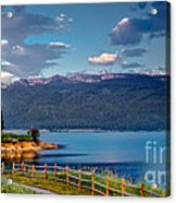 Beautiful Lake View Acrylic Print