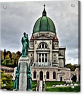 Beautiful Montreal Church Acrylic Print