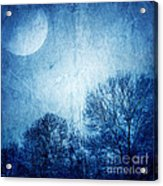 Beautiful Moonlight Photos Acrylic Print