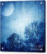 Beautiful Moonlight Photos Acrylic Print by Boon Mee