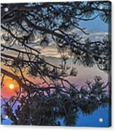 Pastel Morning Acrylic Print
