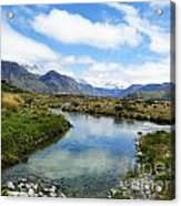 Beautiful New Zealand Acrylic Print