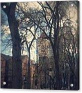 Beautiful Park Ptld. Acrylic Print