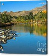 Beautiful Payette River Acrylic Print by Robert Bales