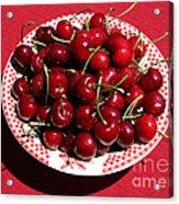 Beautiful Prosser Cherries Acrylic Print