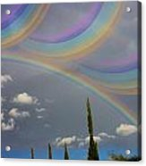 Beautiful Rainbows Acrylic Print