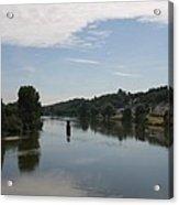 Beautiful River Loire  Acrylic Print