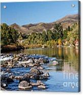 Beautiful River Acrylic Print