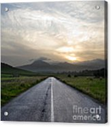 Beautiful Road Acrylic Print by Boon Mee