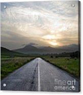 Beautiful Road Acrylic Print by Boon Mee