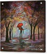 Beautiful Romance Acrylic Print