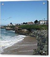 Beautiful Santa Cruz Coast Acrylic Print