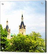 Beautiful Schwerin Castle Acrylic Print