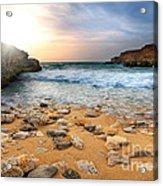 Beautiful Sea Stones Acrylic Print by Boon Mee