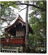 Beautiful Shrine Acrylic Print