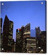 Beautiful Singapore Acrylic Print
