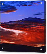 Beautiful Sunrise In Boise Acrylic Print