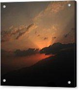 Beautiful Sunrise Of Shelapani Acrylic Print