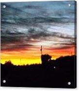 Beautiful Sunset In East Tn Acrylic Print by Regina McLeroy
