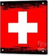 Beautiful Switzerland Flag Acrylic Print