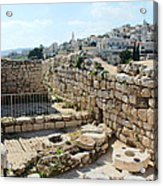 Beautiful Taybeh Village Acrylic Print