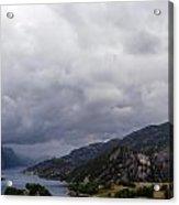 Beautiful View Of Lysefjord  Acrylic Print