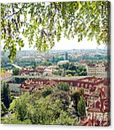 Beautiful View Of Prague Acrylic Print