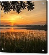 Beautiful View  Acrylic Print by Rose-Maries Pictures