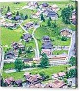 Beautiful Village Lauterbrunnen Acrylic Print