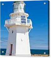 Beautiful Wairapa Point Lighthouse The Catlins Nz Acrylic Print