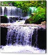 Beautiful Waterfall Acrylic Print