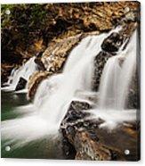 Beautiful Waterfall In Western Ghats Karnataka India Acrylic Print