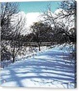 Beautiful Winter View Acrylic Print