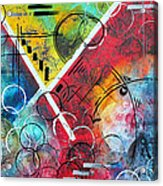 Beauty Amongst The Chaos By Madart Acrylic Print