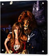 Beauty And The Beast Acrylic Print