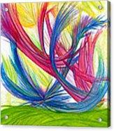 Beauty Gives Joy Acrylic Print by Kelly K H B