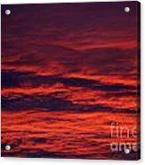 Beauty In Clouds Acrylic Print by Rebecca Christine Cardenas