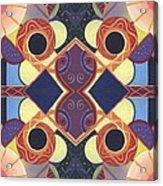 Beauty In Symmetry 1 - The Joy Of Design X X Arrangement Acrylic Print