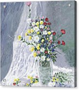 Beauty Is Within Acrylic Print by Leo Gehrtz