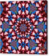 Beauty Of Aruba Kaleidoscope Acrylic Print