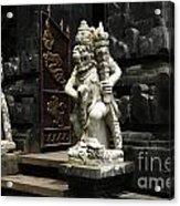 Beauty Of Bali Indonesia Statues 1 Acrylic Print