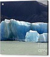 Beauty Of Icebergs Patagonia 6 Acrylic Print