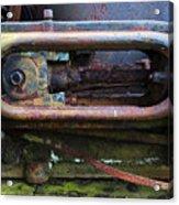 Beauty Of Rust 4 Acrylic Print
