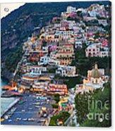 Beauty Of The Amalfi Coast  Acrylic Print by Leslie Leda