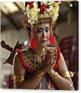 Beauty Of The Barong Dance 1 Acrylic Print